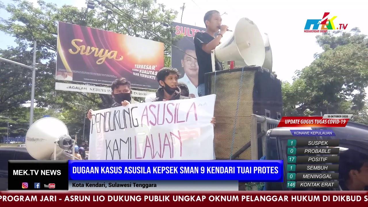 Dugaan Kasus Asusila Kepsek SMAN 9 Kendari Tuai Protes
