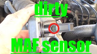 P0171 DO THIS FIRST!! Clean your DIRTY MAF SENSOR!! Toyota Tacoma 4Runner √ Fix it Angel