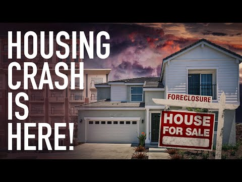 Housing Crash Is Here! Soaring Prices Result In Record Crash In Home, Appliance Buying Plans