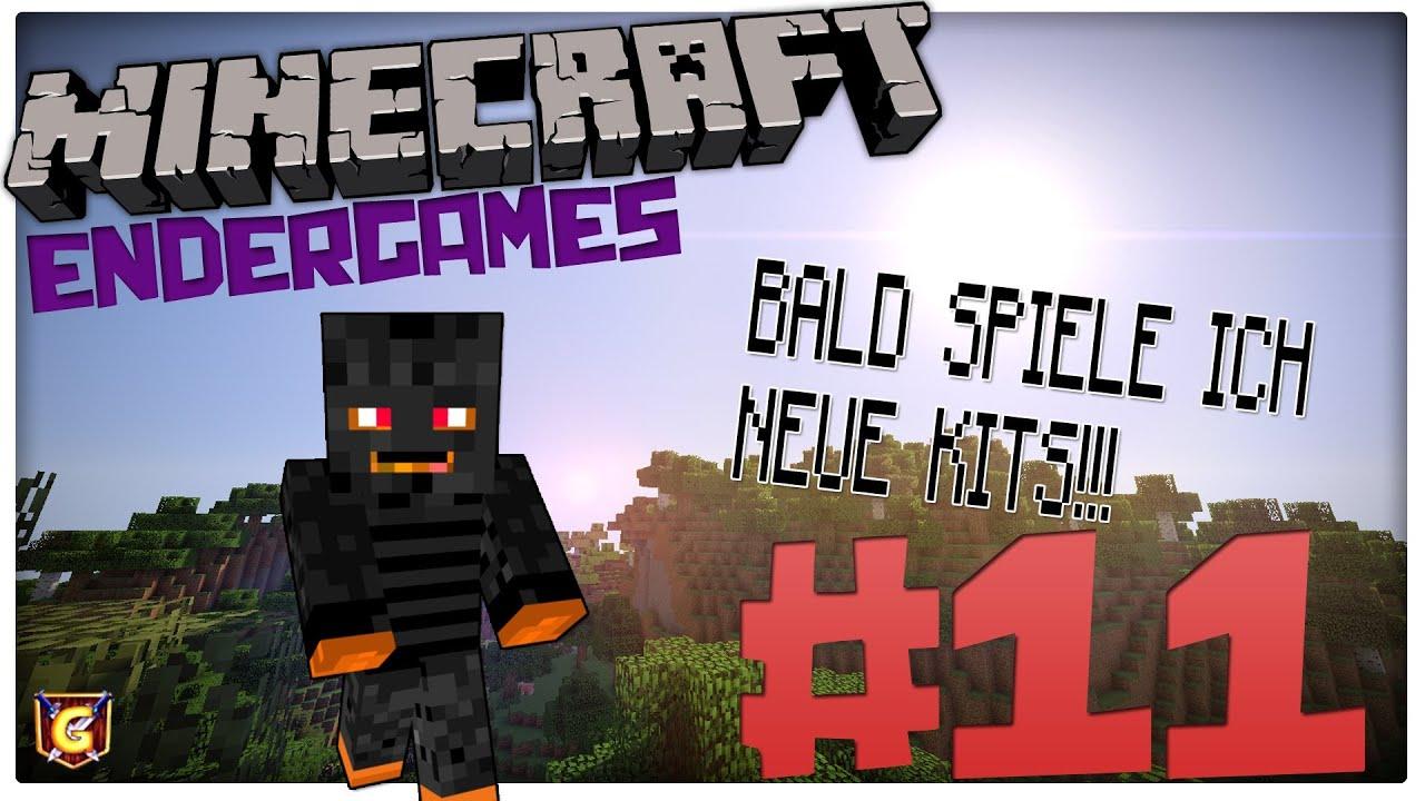 Minecraft EndergamesIch Spiele Bald Neue Kits Juhu YouTube - Minecraft endergames spielen