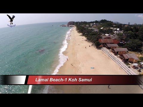 Lamai Beach – 1 / Koh Samui / overflown with my drone