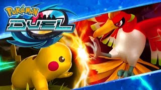 Pokemon Duel Part 1 Learning The Basics + Figures! Gameplay Walkthrough IOS & Android