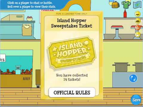 Don't miss your chance for the first weekly drawing in the Island Hopper Sweepstakes!