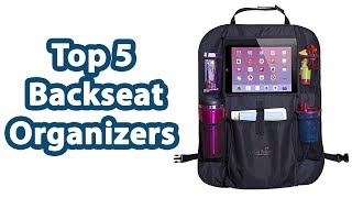5 of the most popular Backseat Organizers you can Watch