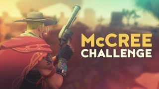 McCREE CHALLENGE (Fortnite Battle Royale)