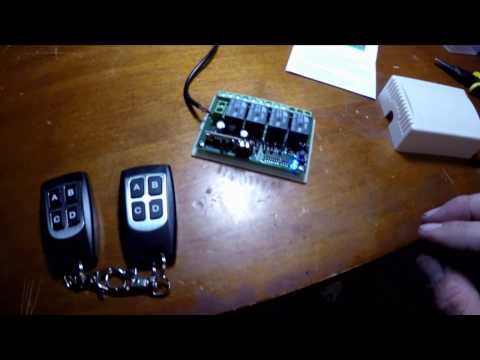 Homelink mirror hack . Banggood remote control