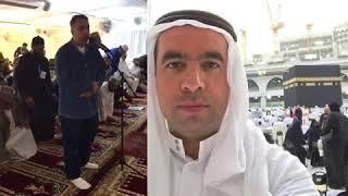İqamah salah Makkah Masjid Al Haram. Kabe kamedi Mescidi Haram, Mekke. Metin Demirtaş. Danimarka