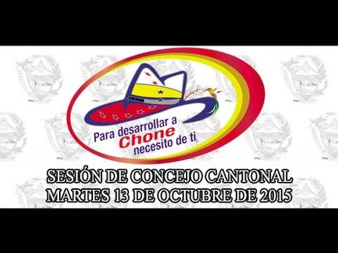 Sesión de Concejo - 13 OCT 2015