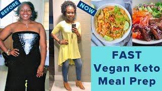 What I Eat | Keto Vegan Meal Prep | Keto Tips UNDER 25$ A WEEK!