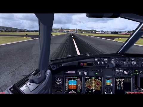 [HD] FSX PMDG 737 NGX RJOO Landing