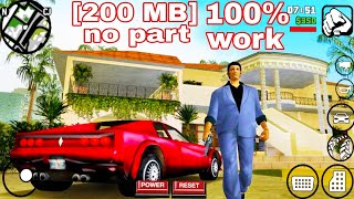 download GTA Vice City in 200mb on Android||download GTA Vice City Lite Android