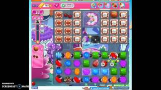 Candy Crush Level 1244 help w/audio tips, hints, tricks