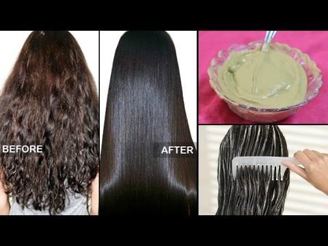 How To Straighten Hair Naturally At Home Within  Minutes