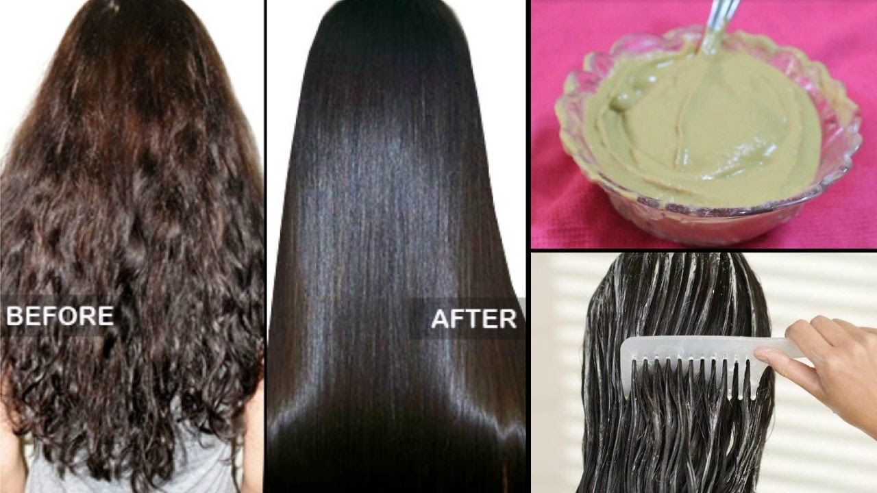 How to straighten Hair Naturally at home within 15 minutes