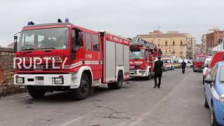 Italy  One dead, four injured after building collapses in Catania