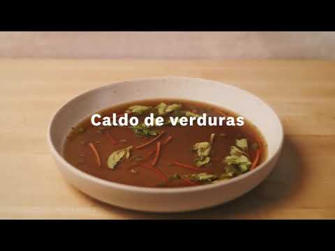Thumbnail to launch Vegetable Stock Spanish video