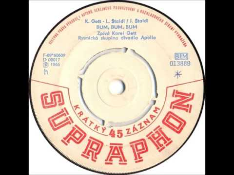 Karel Gott - Bum, bum, bum [1966 Vinyl Records 45rpm]