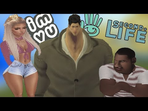 THE WORST ONLINE DATING GAMES EVER (Second Life & IMVU)
