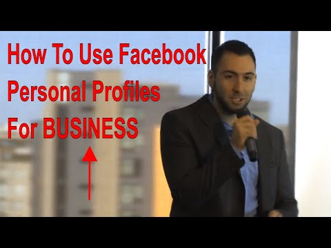10 Ways To Use Your Personal Facebook Profile For Business | Facebook Marketing Tips For Beginners