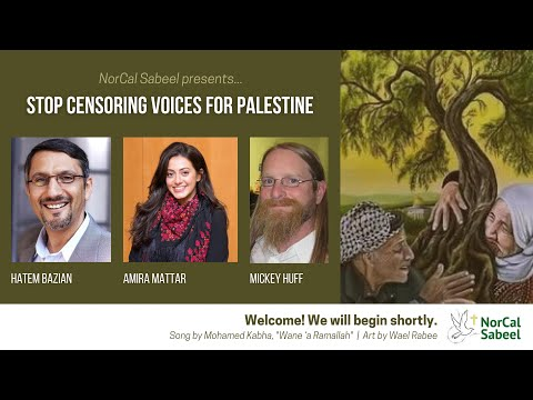 STOP CENSORING VOICES FOR PALESTINE
