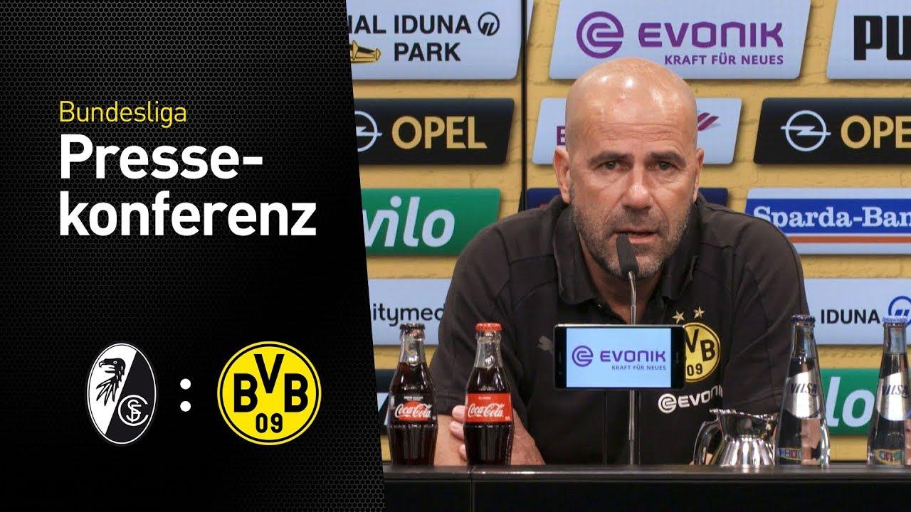 """Peter Bosz: """"Schmelle kann spielen!""""   SC Freiburg - BVB"""