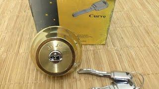 """[32] J1 J2 """"Curve Key"""" Lock (Picked!)"""
