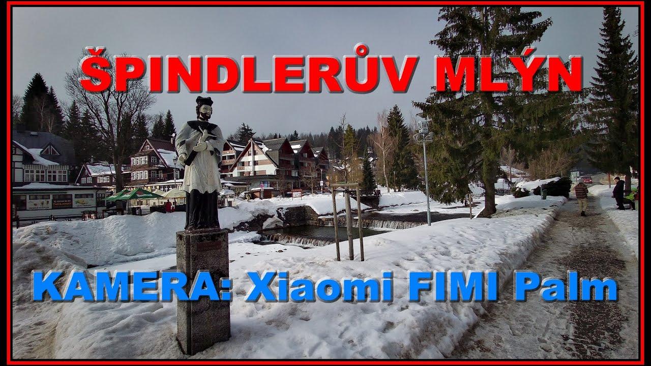 2021.02.21 NEDĚLE - Špindlerův Mlýn. Kamera: Xiaomi FIMI Palm