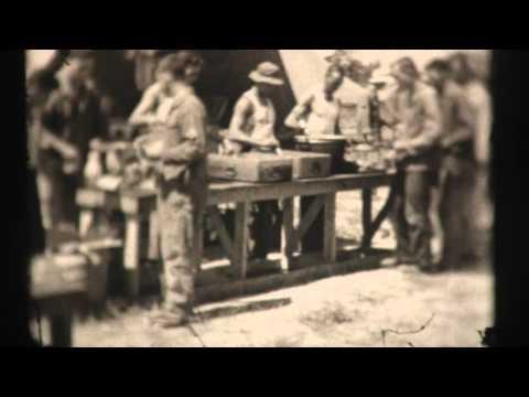 Part 1: 8th Infantry Division Basic Training 8mm film 1941-43