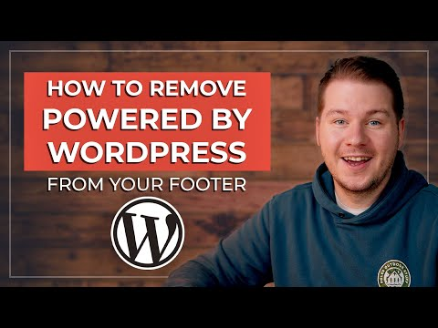 Powered by wordpress are