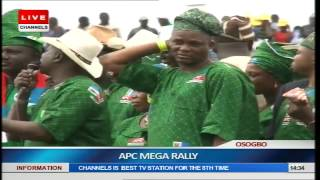 Osun Guber Election: APC Holds Mega Rally Pt.1