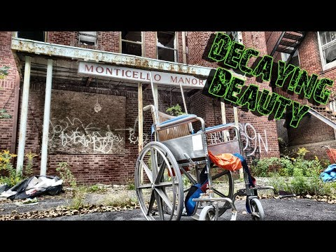 Decrepit Abandoned Nursing Home/Former Hospital - Monticello Manor