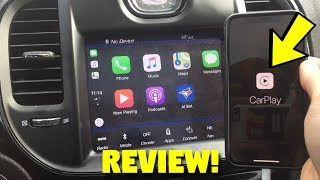 2018 Chrysler/Jeep/Dodge Apple CarPlay Review & Features