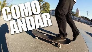 HOW TO SKATEBOARD FLOOR + CORRECTING PUSH MONGO - SKATE