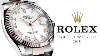 Download Video Rolex Datejust 36: The MOST Important Rolex of All, Baselworld 2018 (NOT the Pepsi Jubilee Bracelet) MP3 3GP MP4