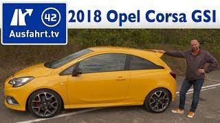 2018 Opel Corsa GSI  1 4 Turbo 150 PS   Fahrbericht der Probefahrt  Test   Review