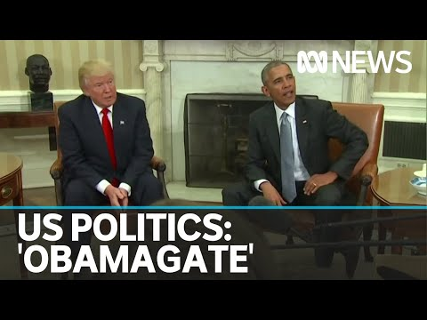 Trump steps up Twitter attacks on Obama as election looms | ABC News