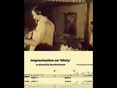 Roy Buchanan - Misty (transcription)