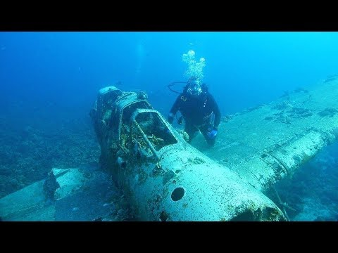 CREEPIEST UNDERWATER SCUBA DIVING LOCATIONS