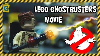 LEGO Ghostbusters vs Ninjago Morro Dragon. Stop-motion movie animation