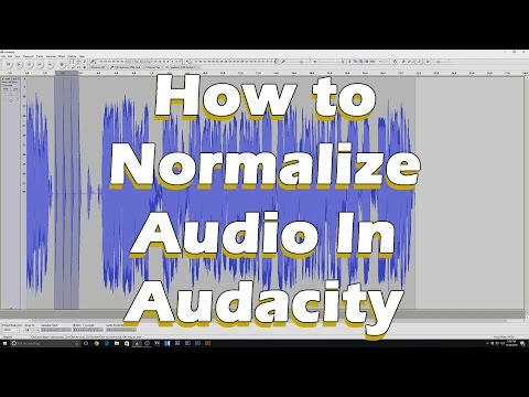Audio Secrets/ How to Normalize Audio in Audacity