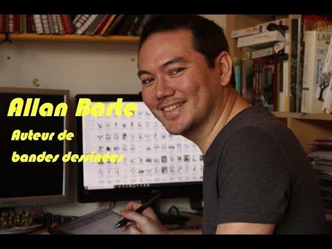 Allan Barte : auteur de bandes dessinées