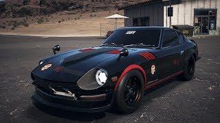 "Need For Speed: Payback - Coche Abandonado - Nissan Fairlady 240ZG ""La Catrina"" + Ubicación"
