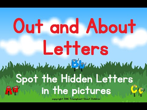 ABC Out and About Letters - By My Children, For Your Children