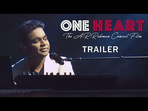 AR Rahman Concert Film Trailer   One Heart   Jonita Gandhi   Haricharan   AP International