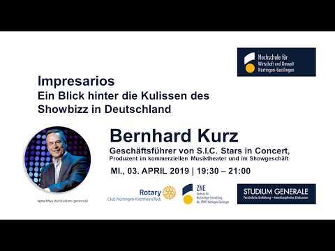 Impresarios Ein Blick hinter die Kulissen des Showbizz in Deutschland
