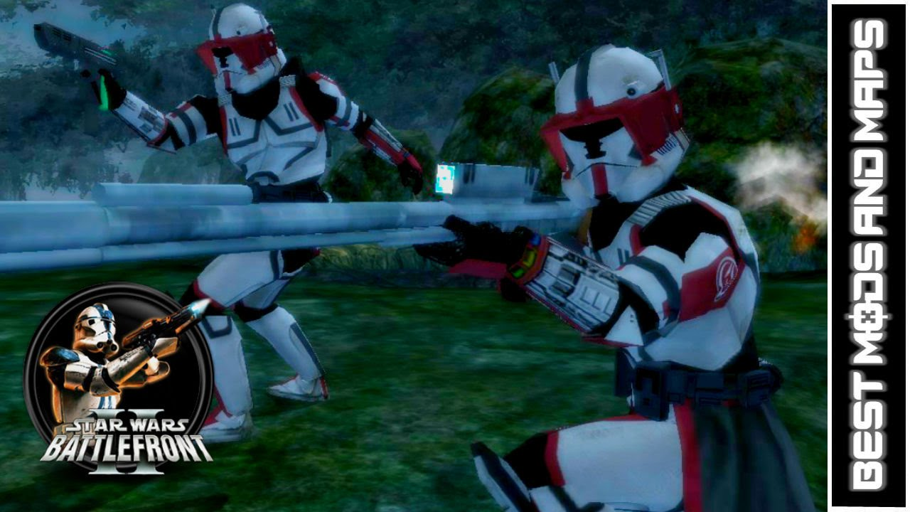 Star Wars Battlefront II PC HD Best Mods Maps The Old - Star wars old republic us map