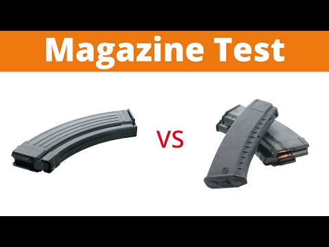 Steel vs Polymer AK Magazines