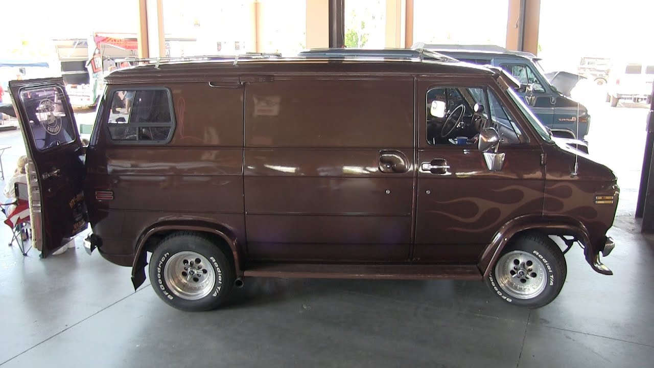 "1977 Chevy Van ""Slo Ryde"" by Walter Newth  (TAZ)"