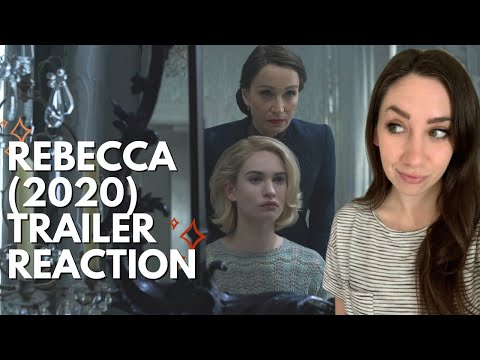 REBECCA 2020 TRAILER REACTION (NETFLIX) | Popcorner Reviews
