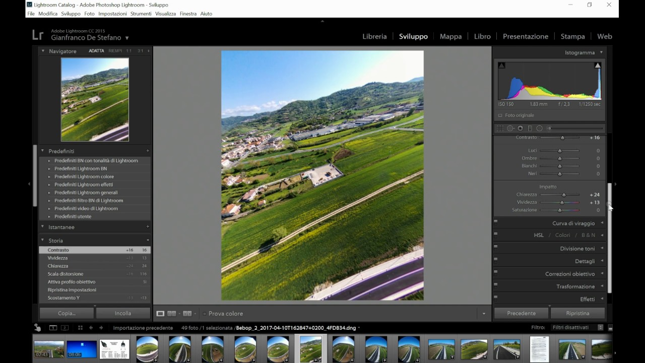 How to convert DNG file Parrot Bebop 2